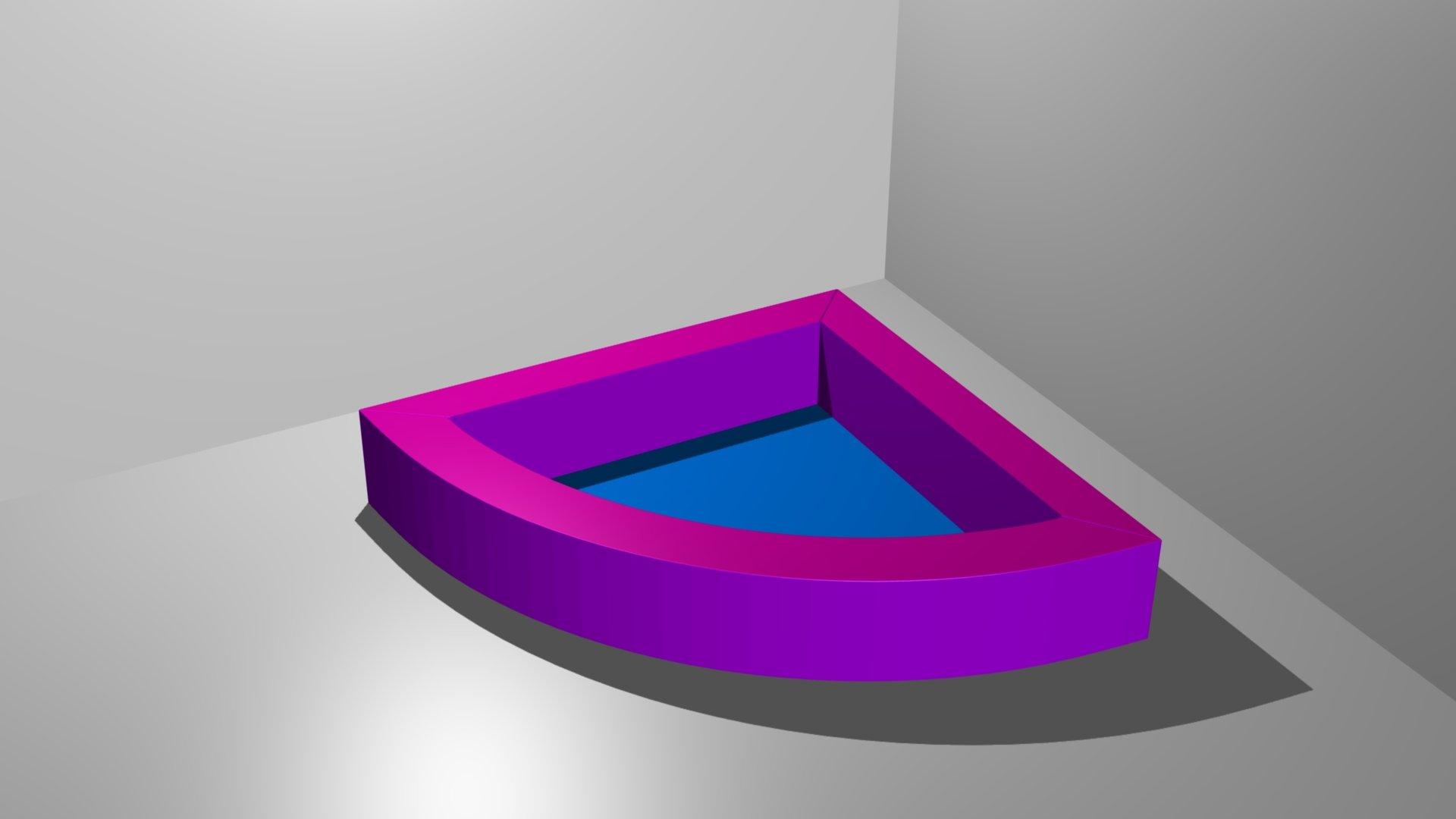 piscine a balle 1 4 cercle sans balles 150 x 150 x 35 cm tapis de fond 4 cm ref pb 1. Black Bedroom Furniture Sets. Home Design Ideas