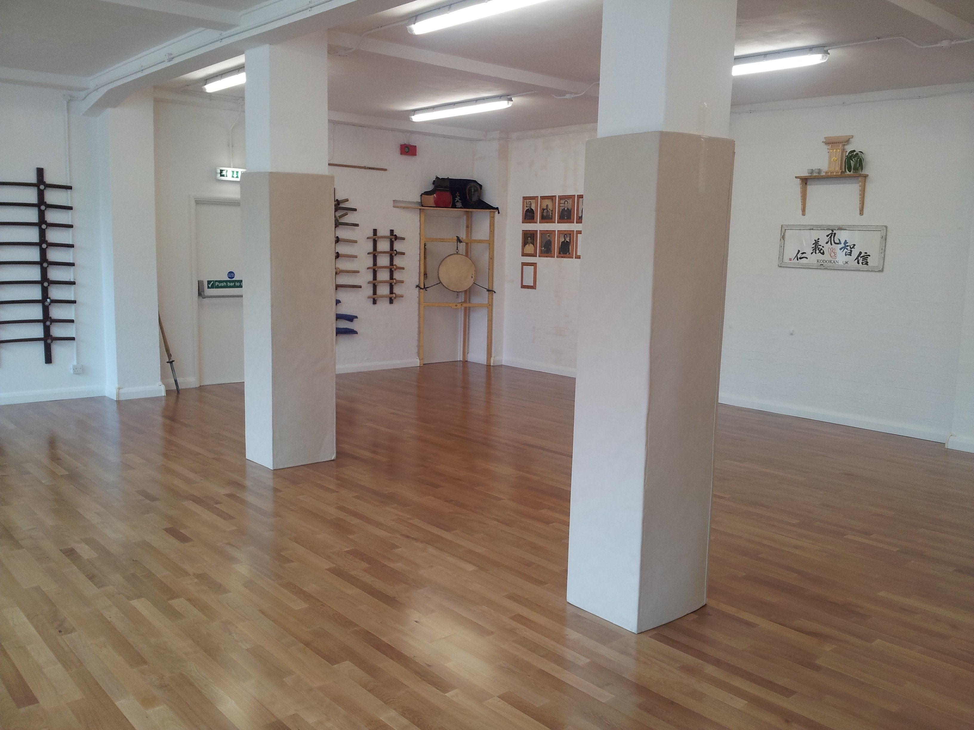 Protection de poteau carre/rectangle petite section (15x15cm max). Hauteur: 200cm. Mousse PU 10cm (REF Prot-R200PU.5)