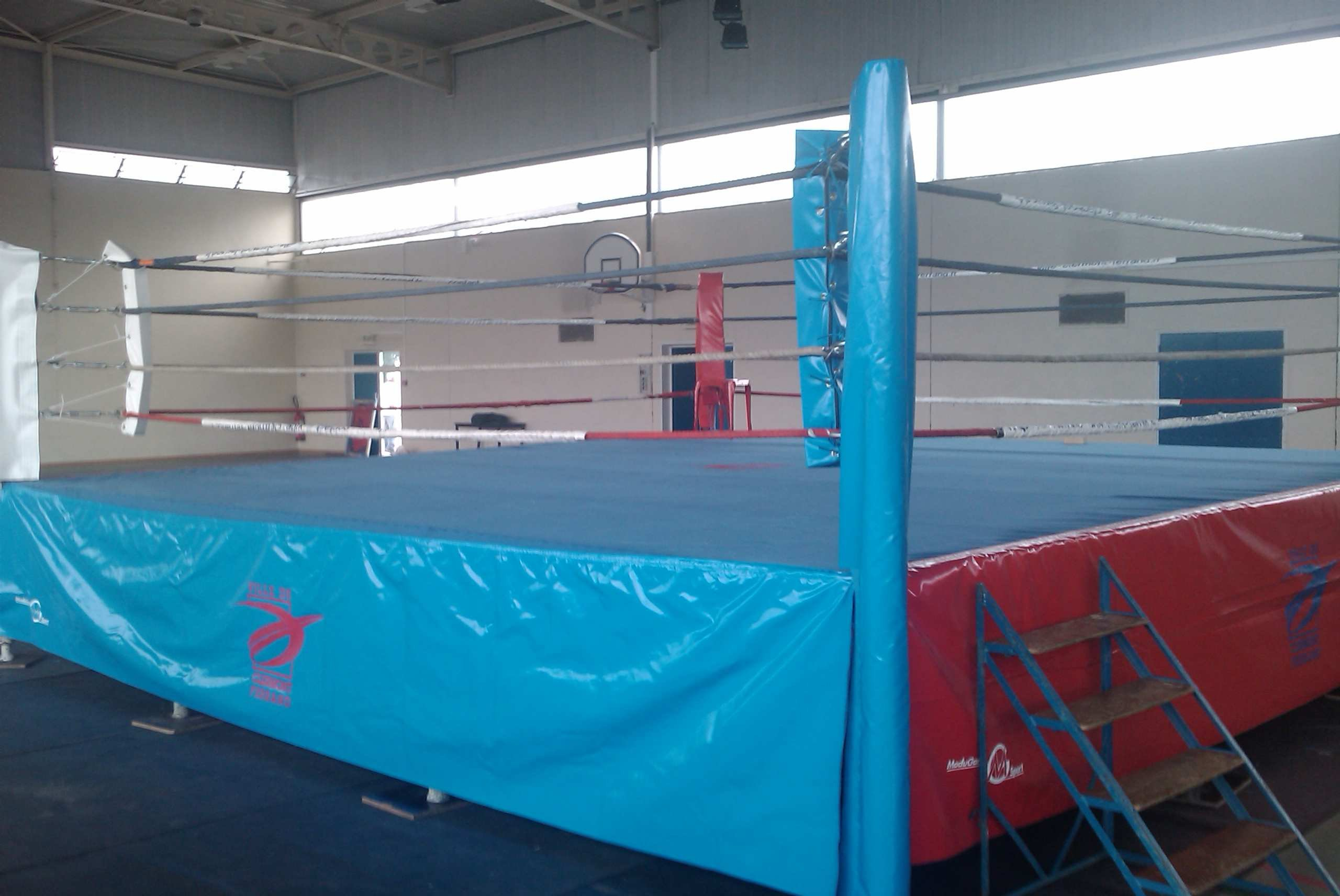 Ring de Boxe Toile Coton - 520 x 520 cm (REF BOX-9.5)